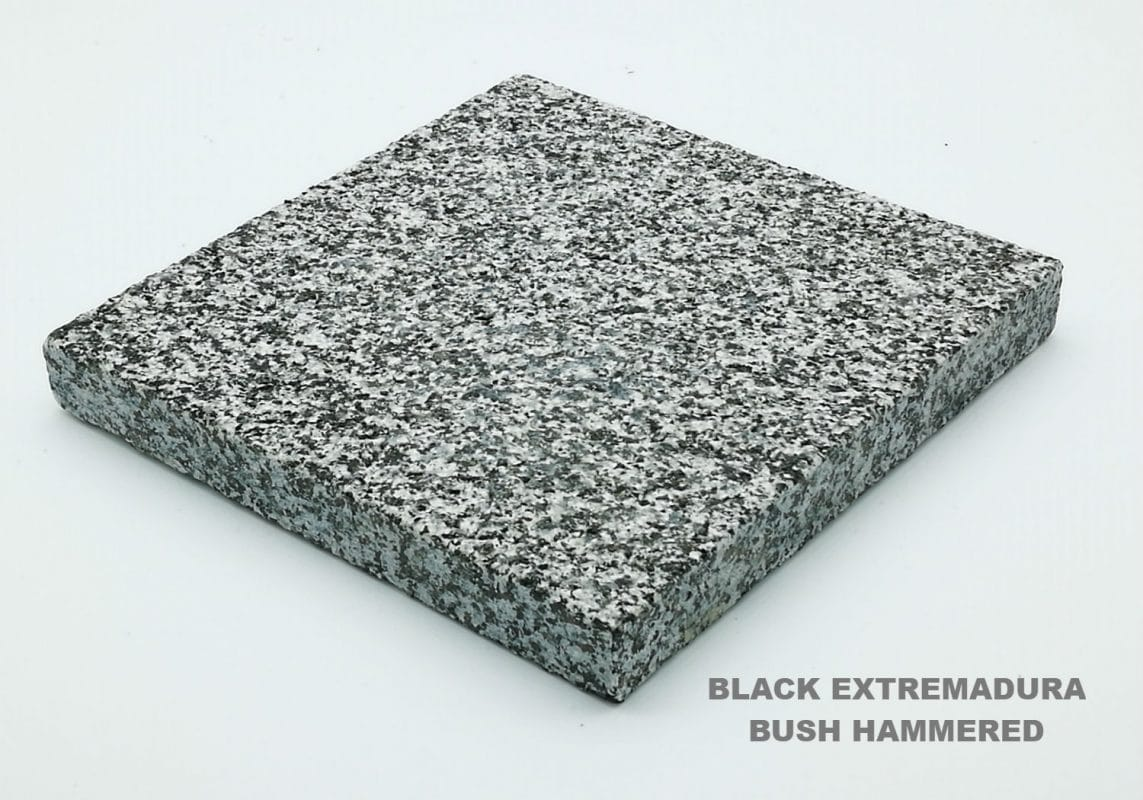 BLACK EXTREMADURA BUSH HAMMERED GRUPINEX