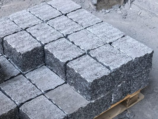 Black Granite Extremadura in Civil Works
